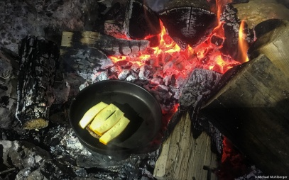 Steak mit Käse
