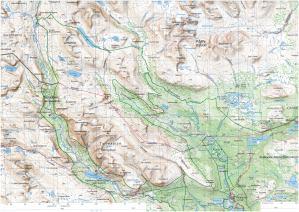 Sarek Kartenausschnitt A3 300dpi